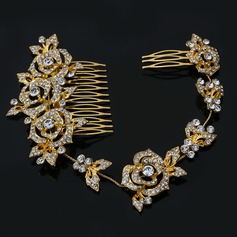 Glamourous Rhinestone/Alloy Combs