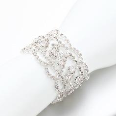 Sparking Alloy/Rhinestones Ladies' Bracelets
