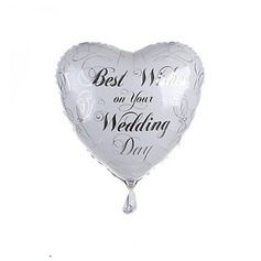 Heart Shaped Aluminium Foil Balloon