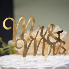 Mr. & Mrs. Acrylic Cake Topper (119074054)