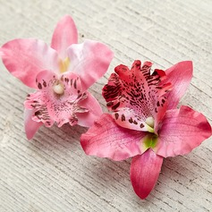 Comely Artificial Silk Headdress Flower(Sold in a single piece)