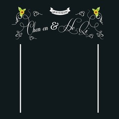 Personalized Print Cloth Photobooth Backdrop