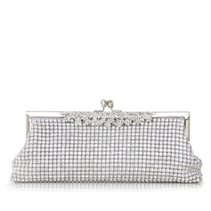 Gorgeous Crystal/ Rhinestone With Metal Clutches