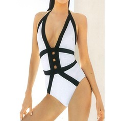 Sexy Stripe One-piece (202082451)