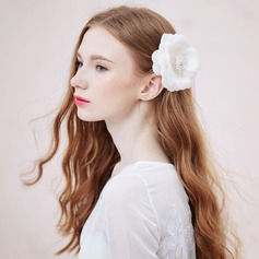 Beautiful/Elegant Silk Flower Combs & Barrettes (Sold in single piece)
