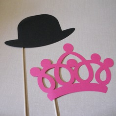 Crown & Hat Card Paper Photo Booth Props