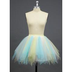 Tulle/Polyester A-Line Slip/Full Gown Slip