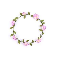 Artificial Silk With Flower Flower Headband