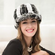 Ladies' Fashion Cony Hair Peaked Cap