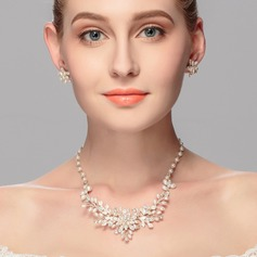 Fashional Alloy/Pearl Ladies' Jewelry Sets