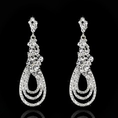 Attractive Rhinestones Ladies' Earrings