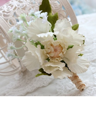 Delicate Satin Boutonniere/Men's Accessories