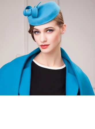 Ladies' Lovely Autumn/Winter Wool With Beret Hat