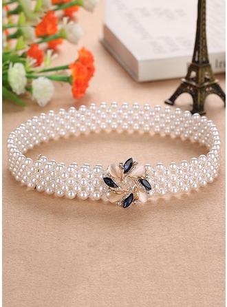 Elegant Imitation Pearls Belt