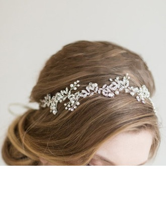 Ladies Classic Rhinestone/Alloy Headbands