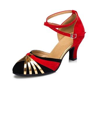 Women's Heels Pumps Modern With Buckle Dance Shoes