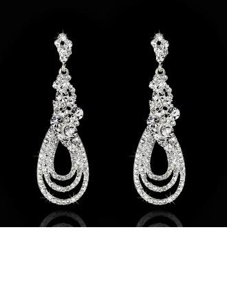 Attractive Rhinestones Ladies' Earrings